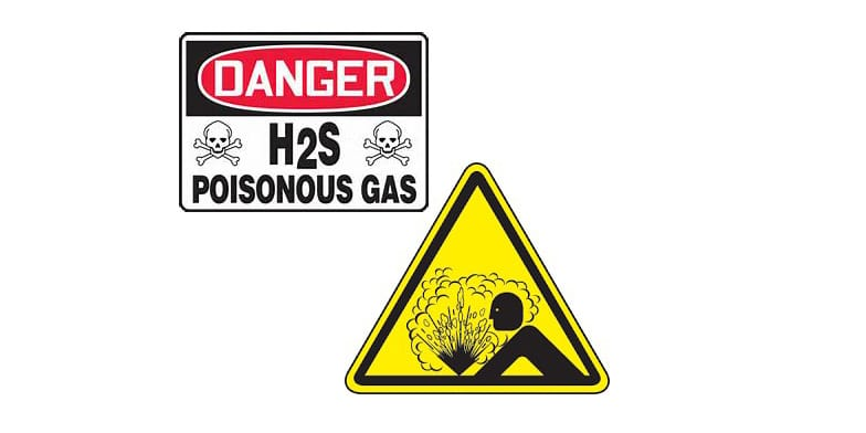 Gas warning signs